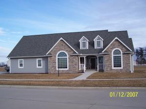 This is Bryan and Karen DeJong's home in Baxter. This home was constructed in 2006. It is about 2500 s.f. on the main floor and a full basement with 2100 s.f. of finish down there (so the conditioned space is a little more than 5000 s.f.).