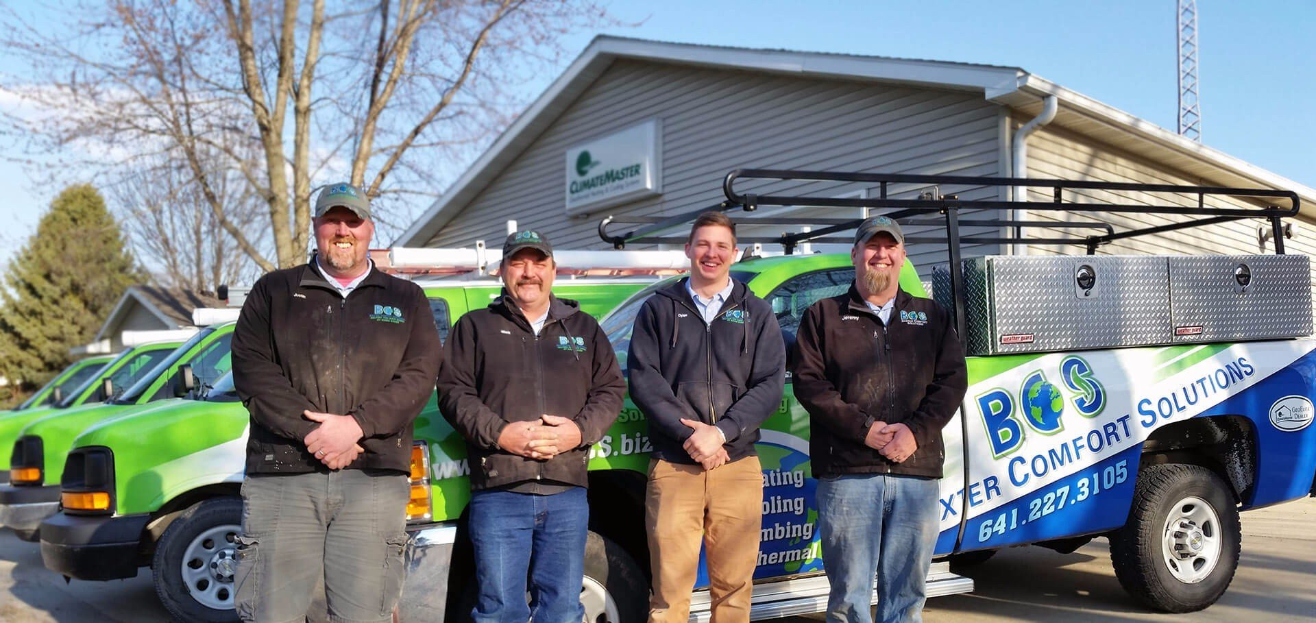 Baxter Comfort Solutions has certified technicians to take care of your Heating installation near Mingo IA.