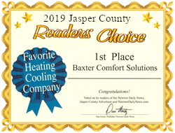 Get your Furnace replacement done by Baxter Comfort Solutions in Newton IA