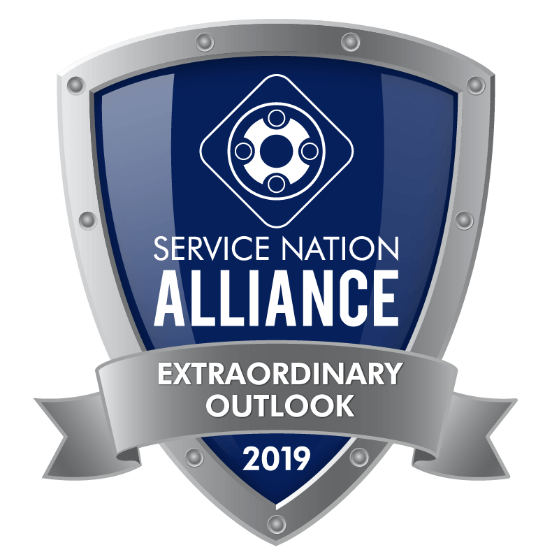 Baxter Comfort Solutions is a Service Nation Alliance Extraordinary Outlook award winner for 2019 for our heating, cooling, and plumbing repairs.